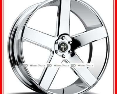 """20"""" Dub Baller S115 Wheels & Tires Package Fits Ford Gmc Dodge Chrysler Chevy"""