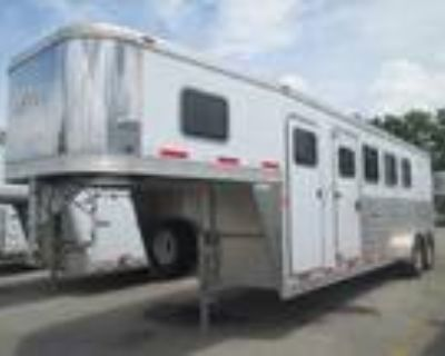 """2014 Exiss GN 4H Slant with Tack and Rear Ramp - 7'6"""" Tall! 4 horses"""
