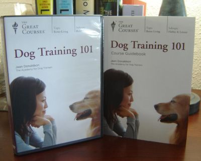 DOG TRAINING 101, Jean Donaldson, 24 lessons on 4 DVDs & Guidebook. 60