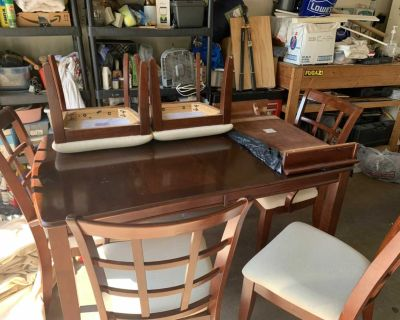 FREE Dining Table and 6 Chair
