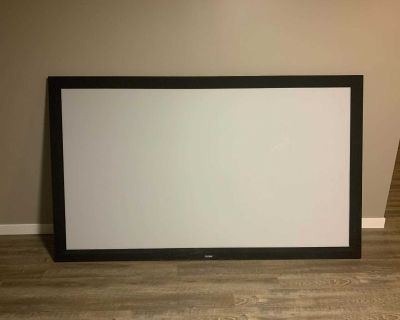 "92"" Overview Projector Screen"