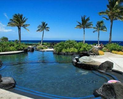 Hali'I Kai Ocean View, on Golf Course Villa 9e Golf Discounts - Puako