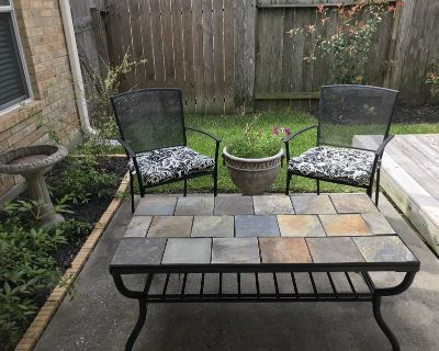 Patio Coffee Table and Matching End Table