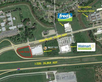 1.865 Acres For Sale - Shed Road @ I-220
