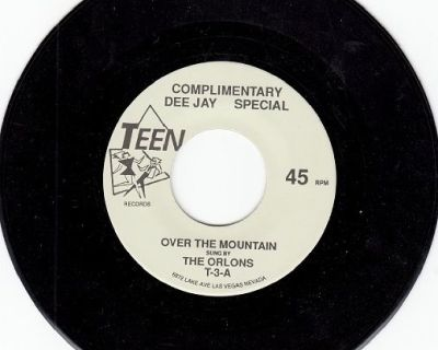 ORLONS ~ Over The Mountain*Mint-45 !