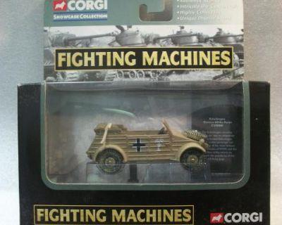 NIB 1:48 Diecast Kubelwagen Corgi Fighting Machine