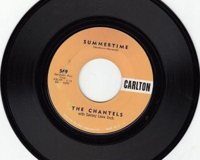 CHANTELS ~ Summertime*VG+*45 !