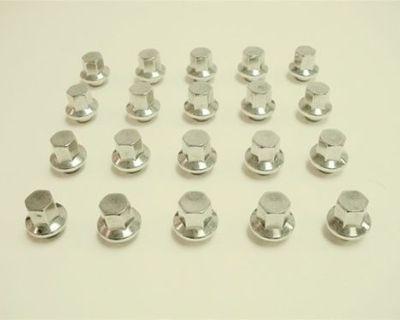 77-81 Firebird Snowflake, Turbo Wheel Lug Nuts Caps New