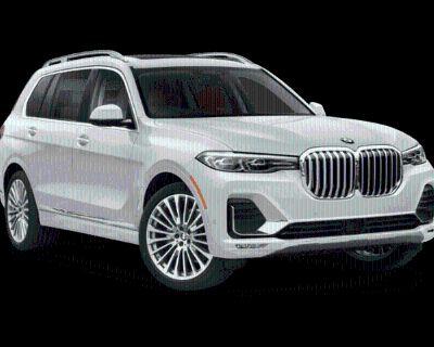 New 2022 BMW X7 M50i All Wheel Drive Sport Utility