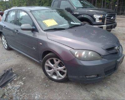 Salvage Gray 2008 Mazda Mazda3