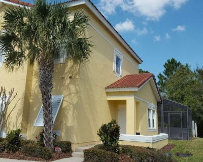 Private Pool Townhome 4 BR in Gated Resort, Very Close to All Attractions, Wifi. - Kissimmee