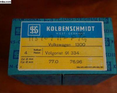 NOS Piston Set 1300CC Kolbenschmidt 113 107 112 F