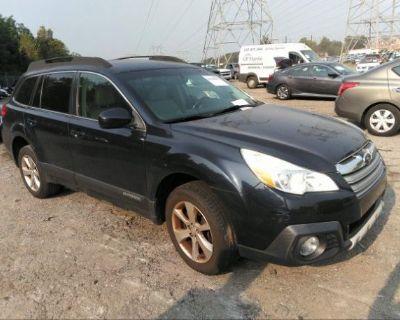 Salvage Dark Blue 2013 Subaru Outback