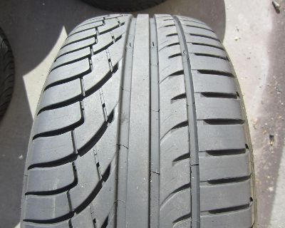 4 Used Bmw 745 750 & Mercedes Tires 245/40/20 & 275/35/20 Michelin Pilot Primacy