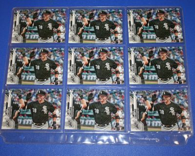 9 2020 TOPPS SERIES ONE RC ZACK COLLINS WHITE SOX ROOKIE BASEBALL CARDS