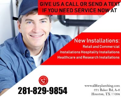 Sewer line Repair & Drain Line Cleaning in Houston