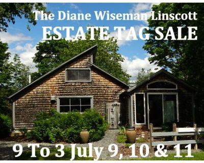 THE DIANE WISEMAN LINSCOTT JULY 9-11 ESTATE SALE