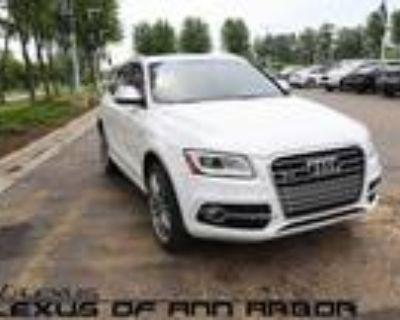 2015 Audi SQ5 White, 45K miles