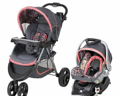 Baby trend stroller and car seat set