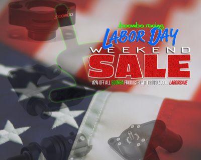 Boomba Racing Labor Day Sale!
