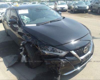 Salvage Black 2020 Nissan Maxima