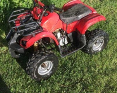 Looking for 110cc or 125cc Atv