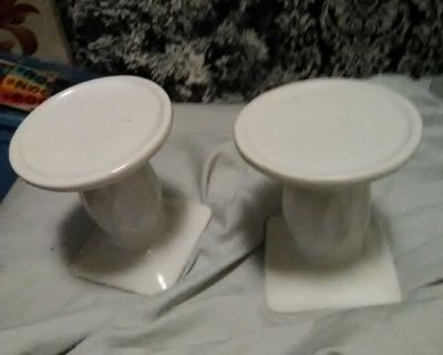 Too shabby chic candle holders