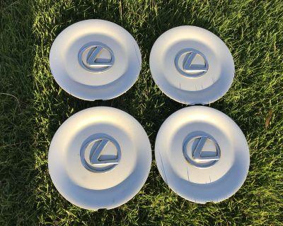 95-00 LS400 Center Caps Silver