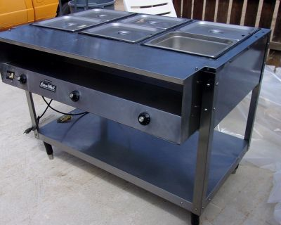 vollrath- steam table -Electric