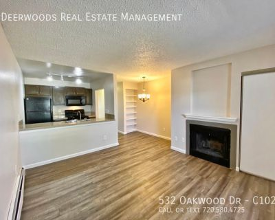 Granite Countertops, Front Patio Space, Fireplace, Next To Rock Park
