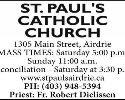ST. PAUL'S CATHOLIC CHURCH ...