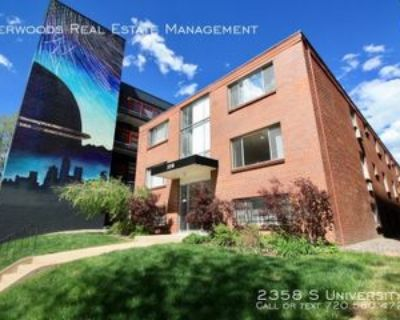2358 S University Blvd #1, Denver, CO 80210 1 Bedroom Apartment