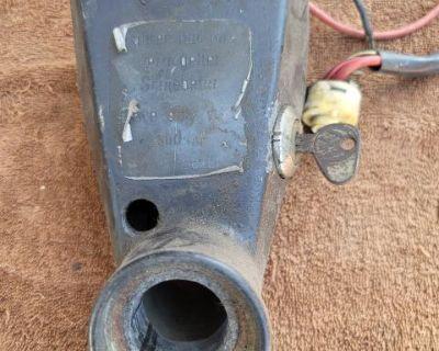 68 baywindow ignition and colum
