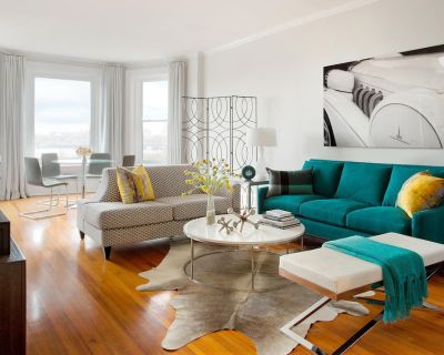 Stunning BOSTON BROWNSTONE condo by interior designer! - Fenway Kenmore