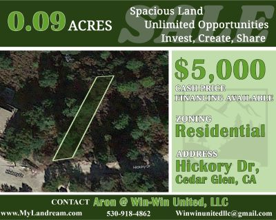 0.09 Acres for Sale in Lake Arrowhead, CA