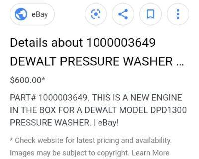 DeWalt motor