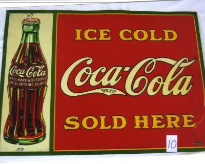 ANTIQUE 1931 COCA-COLA SIGNS