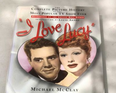 Coffee table book I love Lucy
