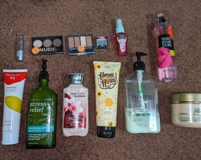 Perfume, lotion, makeup.. click photo to see all