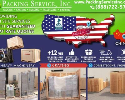 Packing Service, Inc. Professional Shipping and Packing Boxes - Chicago, Illinois
