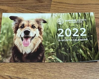 16 month wall Calendar FREE with any New Purchase