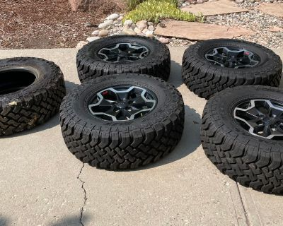Colorado - JT stock wheels & tires for sale, no tpms or lugnuts. $1000 obo