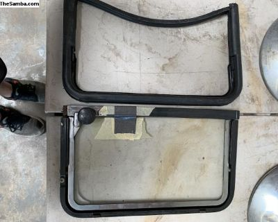 Drivers Window Vent Frame - Complete