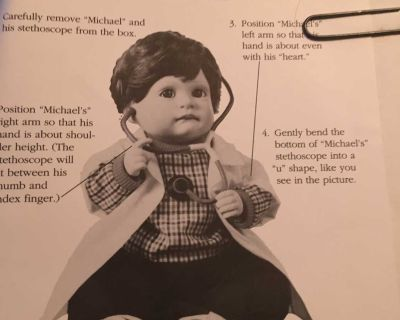 Original Paperwork for Collectible Dolls