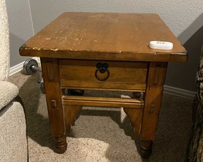 End Table with Potential