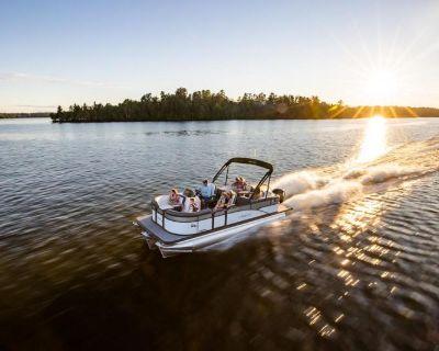 2021 Manitou Pontoon Boats Aurora 23' LE RF VP