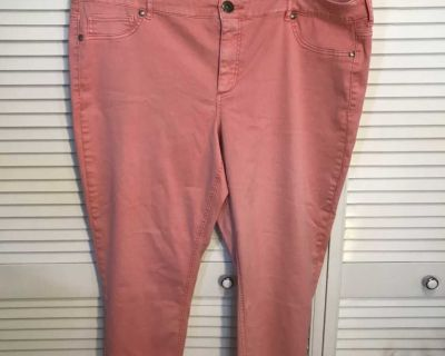Maurices Womens Plus Size 24 Short Skinny Jeans/ Leggings
