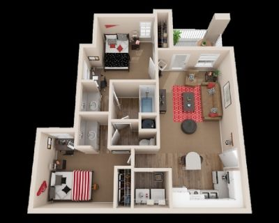 Apartment for Rent 2bed 1 bath $465