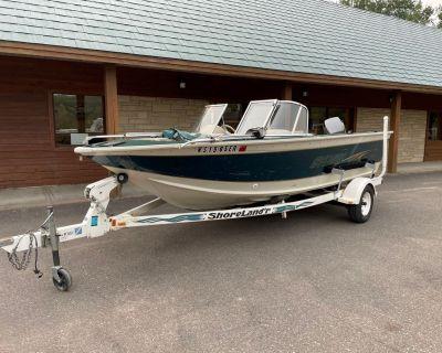 1999 Sylvan 2000 Eliminator Aluminum Fish Boats Trego, WI