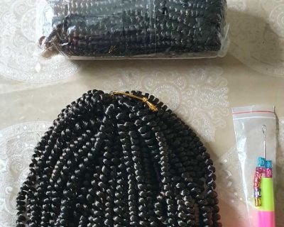 Braiding Hair Extensions 3 Packs ( NOTE CROSSPOSTED)